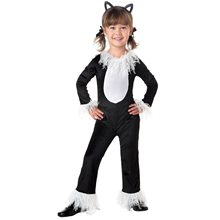 Picture of Cute Black Kitty Infant Costume