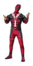 Picture of Deadpool Deluxe Adult Mens Plus Size Costume