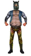Picture of Ninja Turtles Movie 2 Rocksteady Adult Mens Costume
