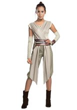Picture of Star Wars The Force Awakens Deluxe Rey Adult Womens Costume