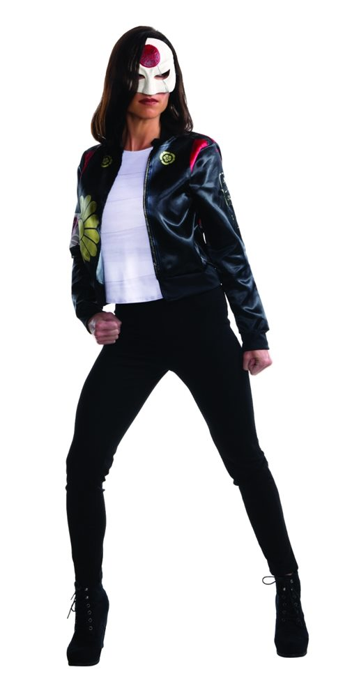Picture of Suicide Squad Katana Adult Womens Jacket & Mask Set