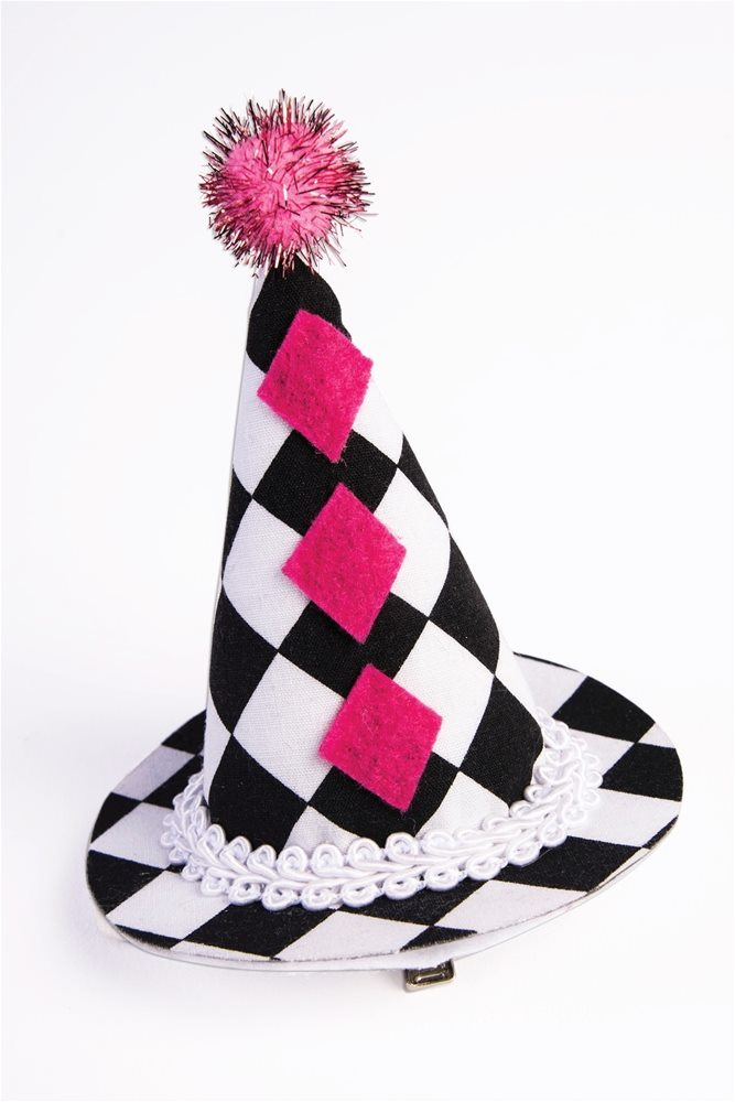 Picture of Harlequin Mini Clip-On Hat