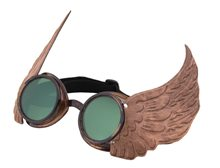Picture of Steampunk Winged Goggles