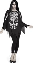 Picture of Skeleton Adult Poncho