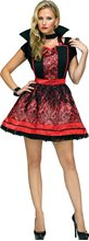 Picture of Vampiress Smock with Collar Instant Costume
