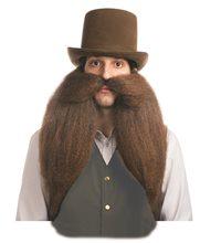 Picture of Western Saloon Keeper Mustache & Beard