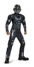 Picture of Halo Spartan Locke Muscle Child Costume