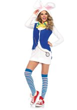 Picture of Cozy White Rabbit Dress Adult Womens Costume