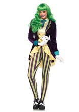 Picture of Wicked Trickster Jester Adult Womens Costume