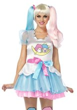 Picture of Hello Kitty Little Twin Stars Dress Adult Womens Costume