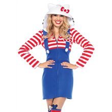 Picture of Hello Kitty Cozy Dress Adult Womens Costume