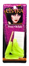 Picture of Elvira Glow in the Dark Green Nails
