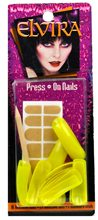 Picture of Elvira Yellow Nails