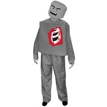 Picture of Zombie Mr. Blockhead Adult Mens Costume