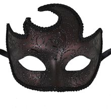 Picture of Burgundy Swirl Masquerade Mask