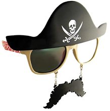 Picture of Pirate Glasses with Mustache
