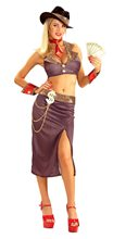 Picture of Glamorous Gangster Adult Womens Costume
