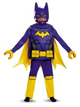 Picture of Batgirl Lego Deluxe Child Costume