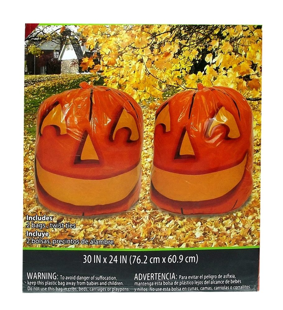 Picture of Stuff-a-Pumpkin Leaf Bags 2ct