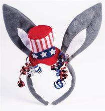 Picture of Democrat Donkey Patriotic Headband