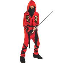 Picture of Fire Dragon Ninja Child Costume