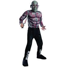 Picture of Guardians of the Galaxy Vol. 2 Deluxe Drax Child Costume