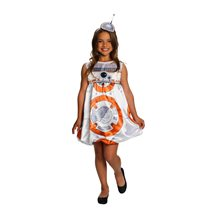 Picture of Star Wars The Force Awakens Deluxe BB-8 Dress Child Costume