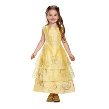 Picture of Beauty and the Beast Movie Deluxe Belle Child Costume