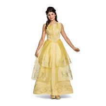 Picture of Beauty and the Beast Movie Deluxe Belle Adult Womens Costume