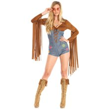 Picture of Boho Fringe Babe Adult Womens Costume
