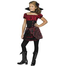 Picture of La Vampira Child Costume