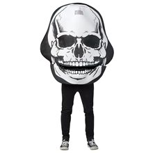 Picture of Giant Skull Mouth Head Adult Unisex Costume