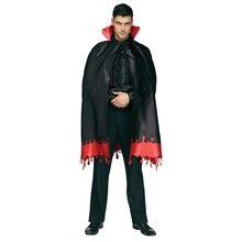 Picture of Count Crypt Blood Drip Cape 46in