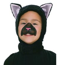 Picture of Cat Hood & Nose Child Set