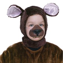 Picture of Bear Hood & Nose Child Set