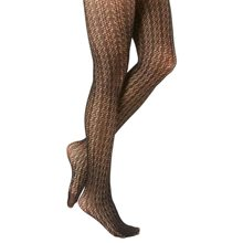 Picture of Black Diamond Textured Tights