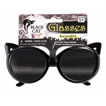 Picture of Black Cat Glasses