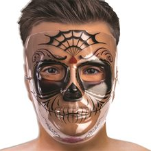 Picture of Day of the Dead Señor Transparent Mask