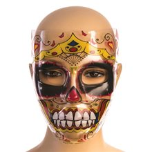 Picture of Day of the Dead Royalty Transparent Mask