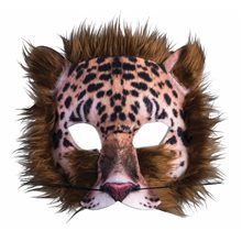 Picture of Leopard Sublimated Furry Mask