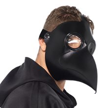 Picture of Faux Leather Plague Doctor Mask
