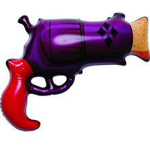 Picture of DC Super Villains Harley Quinn Inflatable Gun