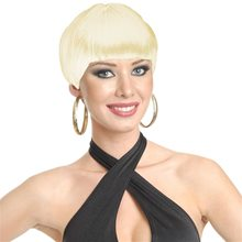 Picture of Blonde Short 20s Flapper Wig