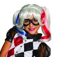 Picture of DC Super Heroes Harley Quinn Child Wig
