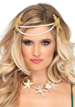 Picture of Mermaid Pearl Starfish Headband