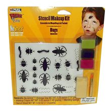 Picture of Bugs Stencil Makeup Kit
