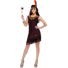 Picture of Native American Warrior Adult Womens Costume