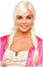 Picture of Double Braided Platinum Blonde Wig