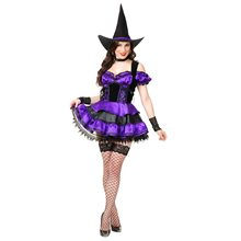 Picture of Midnight Witch Adult Womens Costume
