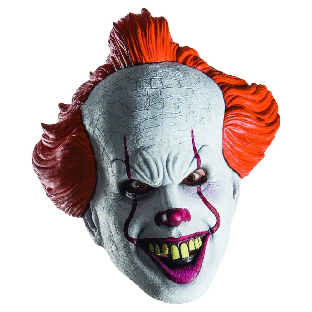 Picture of IT the Movie Pennywise Half Mask